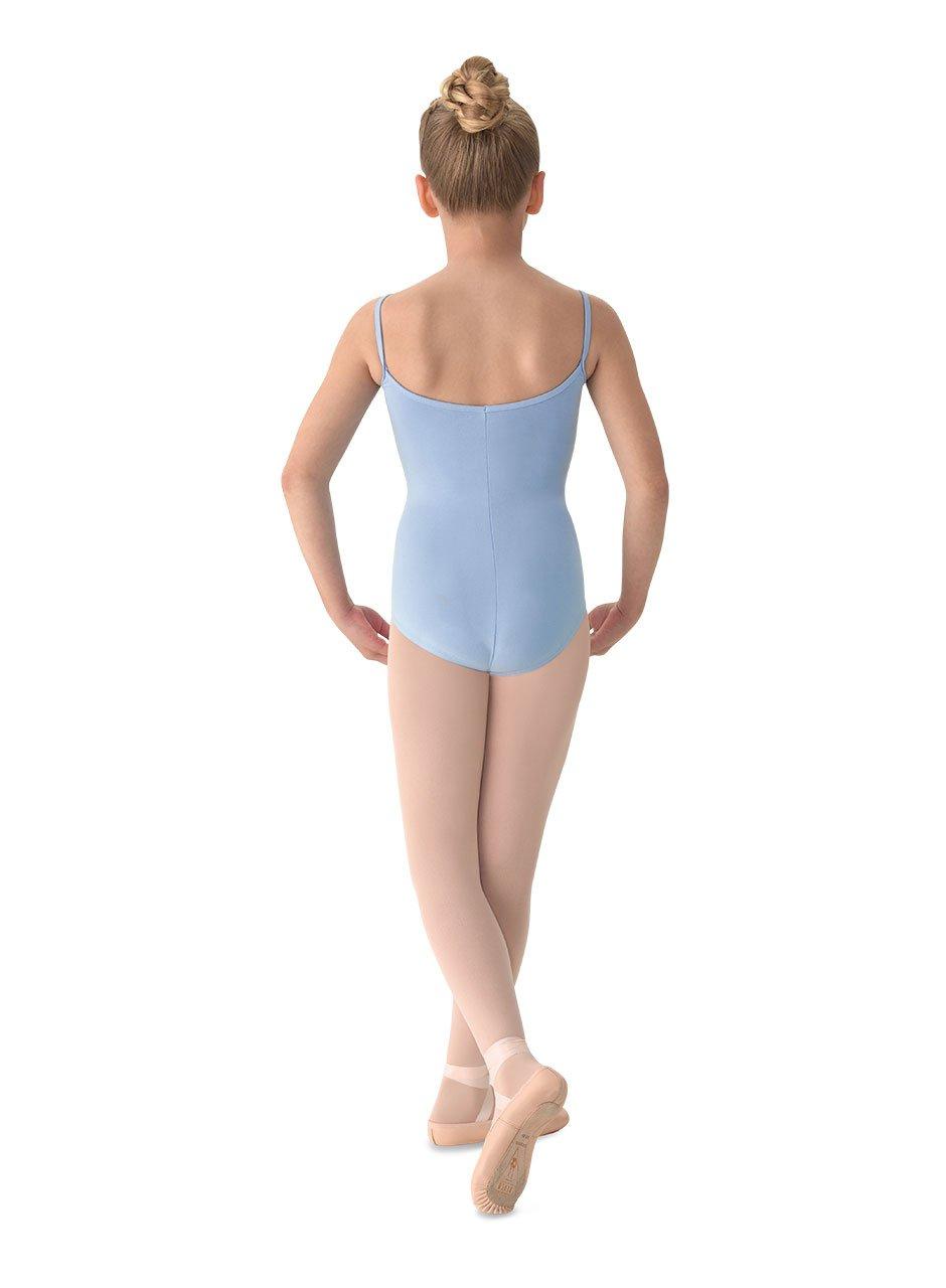 Mirella Girls Princess Seam V-Front Camisole Dance Leotard Bloch Inc M207C-P