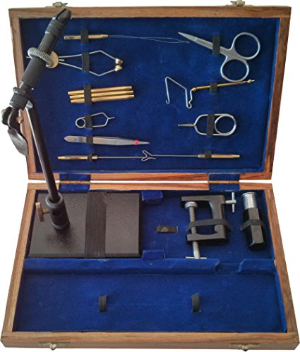Deluxe Fly Tying Tool Kit Fly Tying Kits
