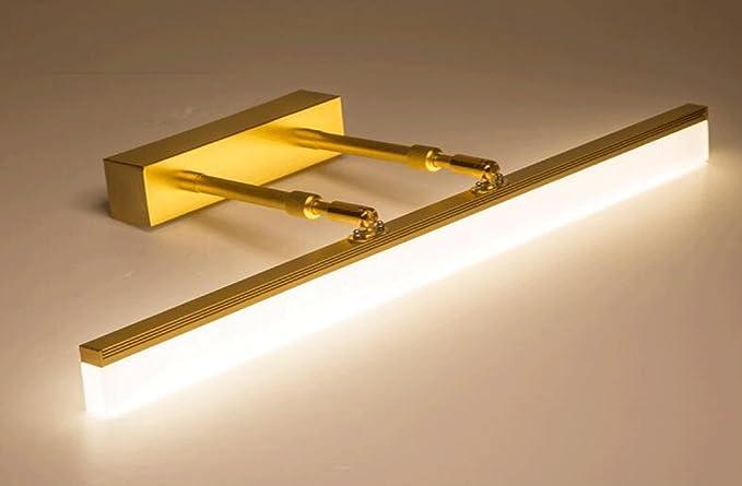 Luci da specchio lampada specchio d oro a led bagno specchio bagno