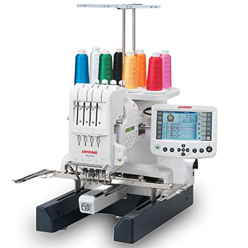 5. Janome MB-4S Commercial 4 Needle Embroidery Machine