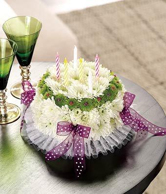 Happy Birthday Deluxe - Same Day Birthday Cake Delivery - Birthday Cakes - Baby Shower Cakes - Cake for birthday - Birthday Gift Ideas