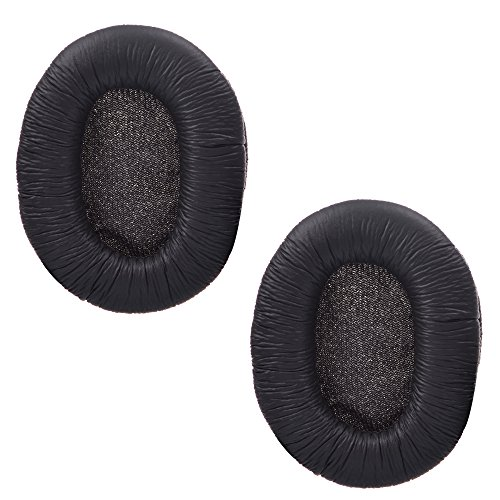 Cosmos  1 Pair Black Color Replacement Earpad Ear Pad Cushion for Sony MDR-7506 and MDR-V6 Headphones