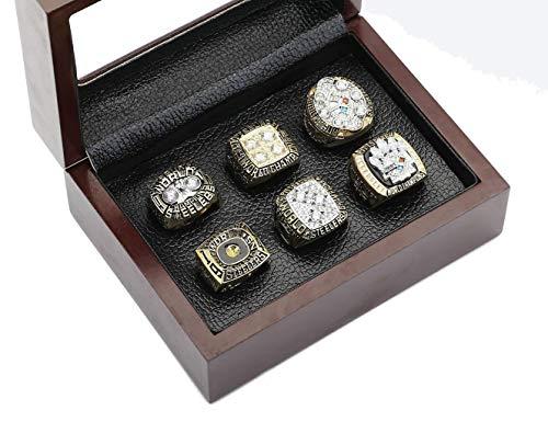 Pittsburgh Steelers Super Bowl Championship Rings Full Set Replica