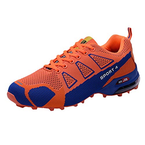 (Clearance for Shoes,AIMTOPPY Autumn Fashion Men's Outdoor Hiking Sports Shoes Lightweight Breathable Lace-up Sneakers)