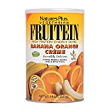 Natures Plus Fruitein Banana Orange Creme – 1.4 lbs, Vegetarian Protein Powder – Whole Food Plant Based Meal Replacement, Vitamins and Minerals for Energy – Gluten Free – 18 Servings