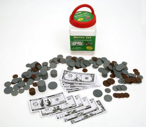 Eureka Tub of Money, Educational Back to School Classroom Supplies, 4.5'' x 2'', 318 - Teaching Money Supplies