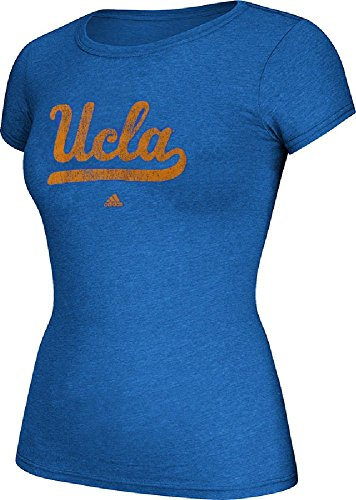 NCAA UCLA Bruins Women's Her Full Color Primary Logo Tee, Medium, Strong Blue Heathered