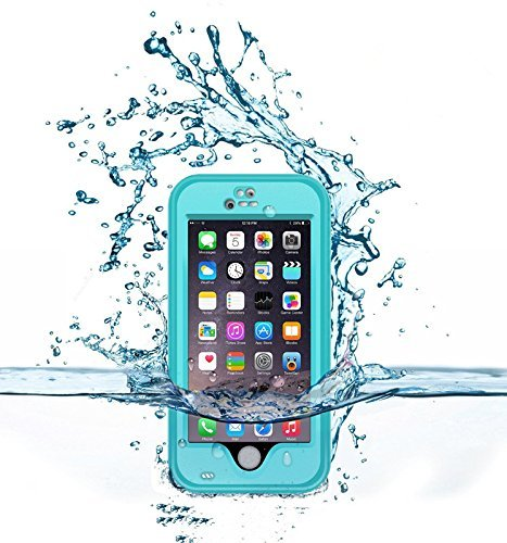 timeless design fc24d f6875 Bessmate Waterproof Viewing Kickstand Case for Apple iPhone 6 - Blue
