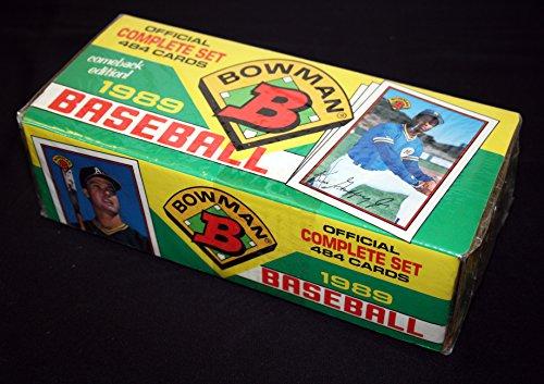 1989 Bowman Baseballl Factory Set (484 Cards)