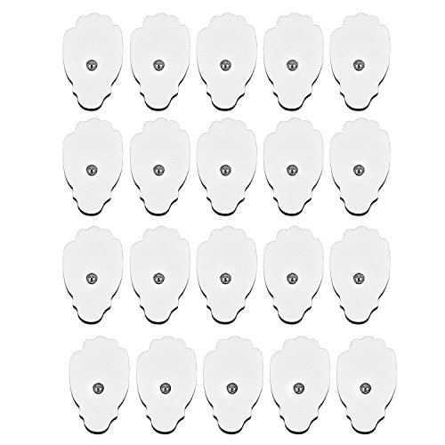 CUH TENS Electrodes Replacement Pads 20 Pads FDA Approved for TENS Unit Electronic Pulse Massager by CUH