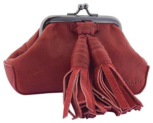 Abbacino Dido, Monedero para Mujer, Rojo (Burdeos) 4x8x14 cm ...