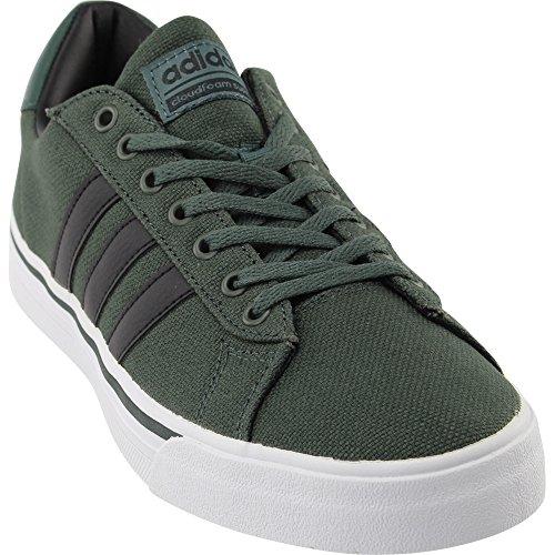 online retailer 0776e 3cd19 Galleon - Adidas Mens Cloudfoam Super Daily Fashion Sneakers, Utility  IvyBlackWhite, (8.5 M US)