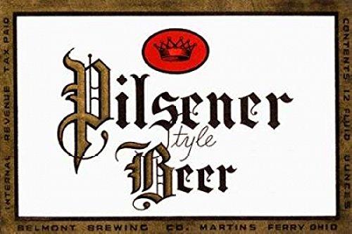 Pilsener Style Beer Poster Print by Vintage Booze Labels (24 x 36)