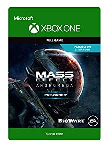 Mass Effect Andromeda - Pre-load - Xbox One Digital Code