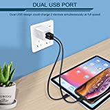 USB Wall Charger, Charger Adapter, Ailkin 2-Pack