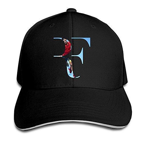 Cinocu Roger Federer Snapback Hats (Tennis Player Costumes)
