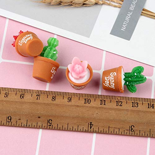 Slime charms 5Pcs Lot Plant Polymer Slime Charms Modeling Clay Accesorios Box Toy For 3