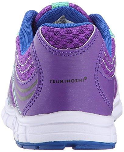 Little Tsukihoshi Big Kid Sneaker Lace Dash Toddler Kid Purple Mint IIBfw