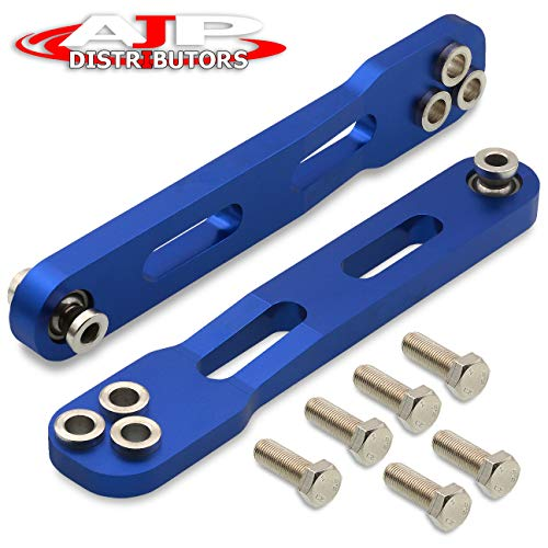 AJP Distributors Rear Lower Camber Control Arms Blue JDM For 2002 2003 2004 2005 2006 2007 2008 Acura RSX DC5 Type-S Honda Element 02 03 04 05 06 07 08 Suspension Performance Upgrade