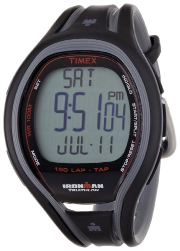 Timex Full-Size T5K253 Ironman Sleek 150-Lap TapScreen Watch