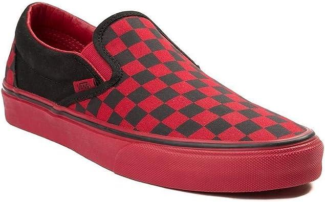 Vans Unisex Slip On Chex Skate Shoe