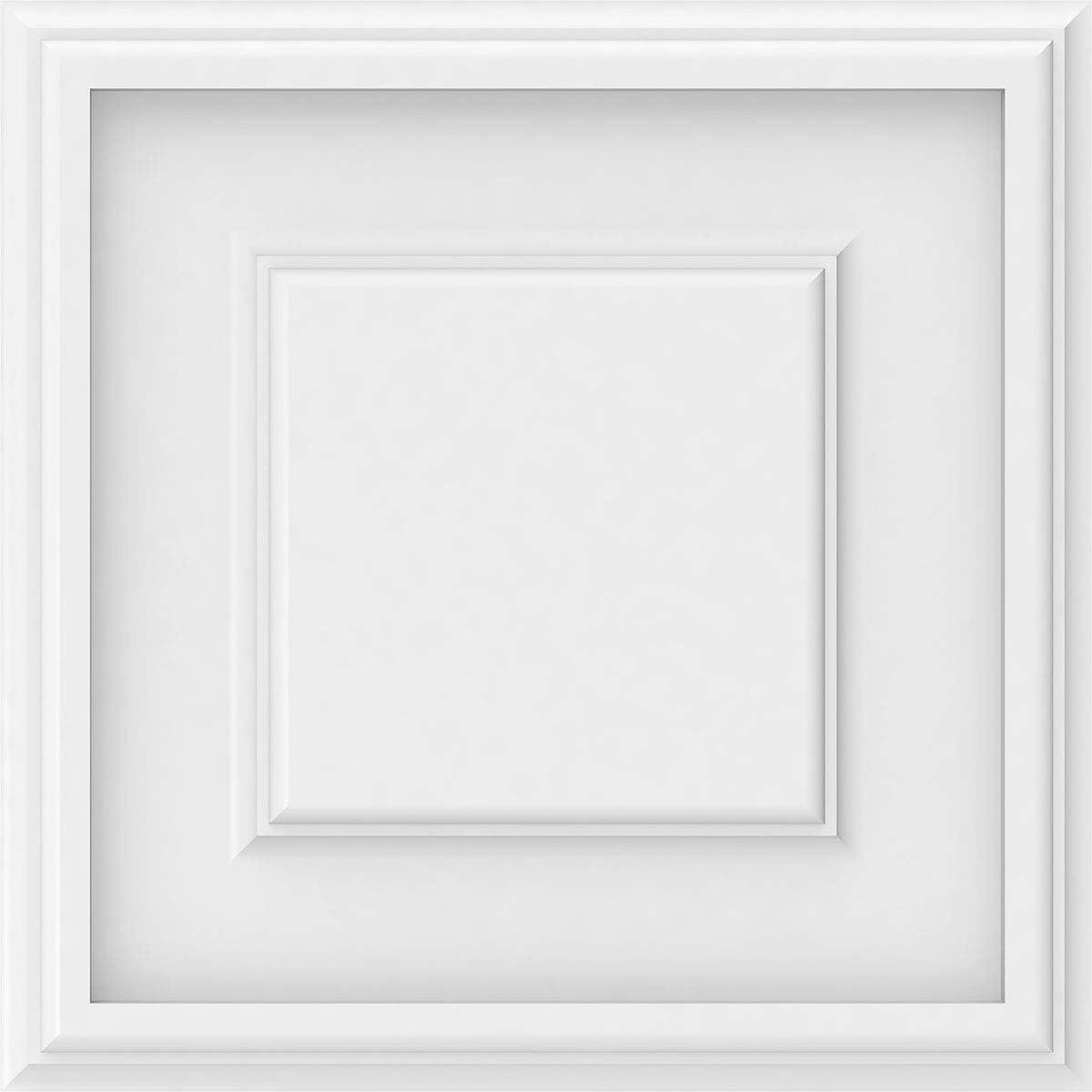 White 10-Pack 12W x 12H x 5/8P Ekena Millwork WALP12X12X062LEG ...