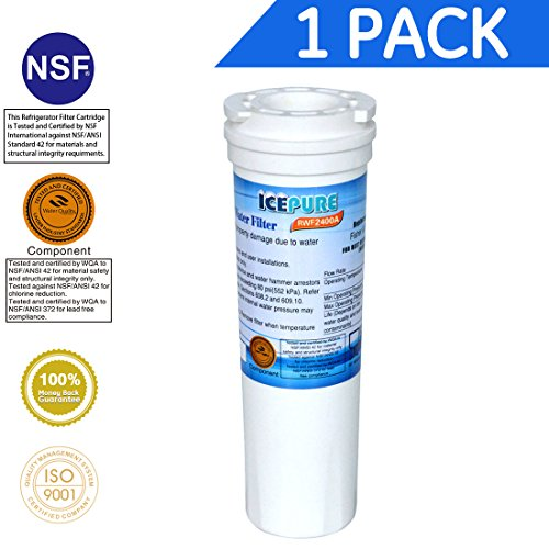 IcePure RWF2400A  Compatible with Fisher & Paykel 836848, 836860 ,WF296 Refrigerator Water Filter 1PACK