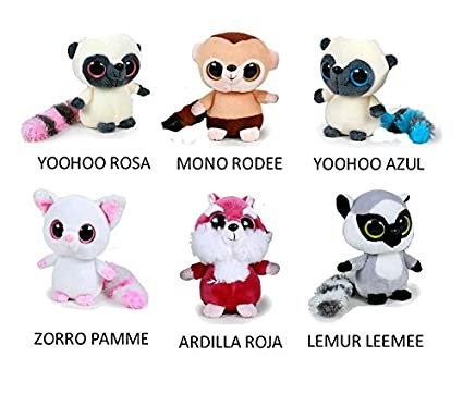 PELUCHES YOOHOO AND FRIENDS