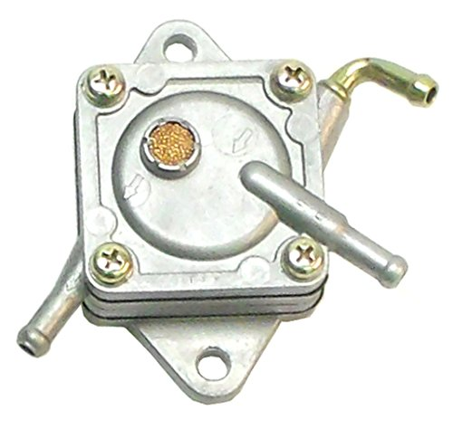 Mikuni Aluminum Serviceable Vacuum Fuel Pump, fits Many Engines. The Hose barbs are 1/4