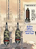 Sirio Antenna Sirio Fighter 3/8 NS (No Shaft) 10m & CB Mobile Antenna-Limited Edition
