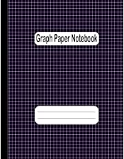 Graph Paper Notebook: Large Simple Graph Paper Journal | 120 Quad Ruled 4x4 Pages 8.5 x 11 Inches | Graph Paper Composition Notebook | Grid Paper Notebook for Math and Science Students .