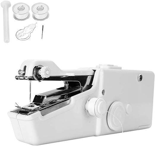 Máquina de coser portátil Neborn para el hogar, mini máquina de ...