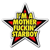 STARBOY - [CUSTOMI] Decal Sticker for Car Truck Macbook Laptop Air Pro Vinyl