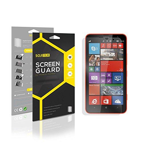 SOJITEK Nokia Lumia 1320 Premium Anti-Glare Anti-fingerprint Matte Screen Protector [7-Pack] - Lifetime Replacements Warranty + Retail Packaging