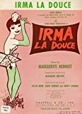 Irma La Douce (1958 English Version Sheet Music)