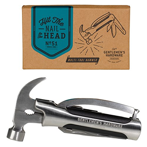 Gentlemen s Hardware Wild and Wolf Multi Purpose Hammer Tool