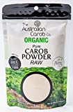 Australian 100% Certified Organic Raw Carob Powder 7.05oz (200 grams) NON-GMO, World's Best Tasting Carob Powder, Vegan, A New Generation Carob (Not Heated/Not Brown/Just Raw)