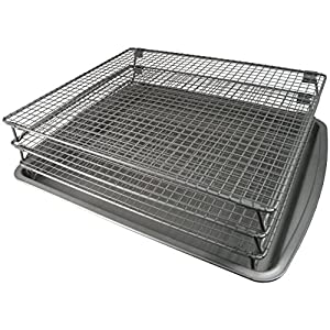 Amazon Com Weston Nonstick 3 Tier Drying Rack And Baking