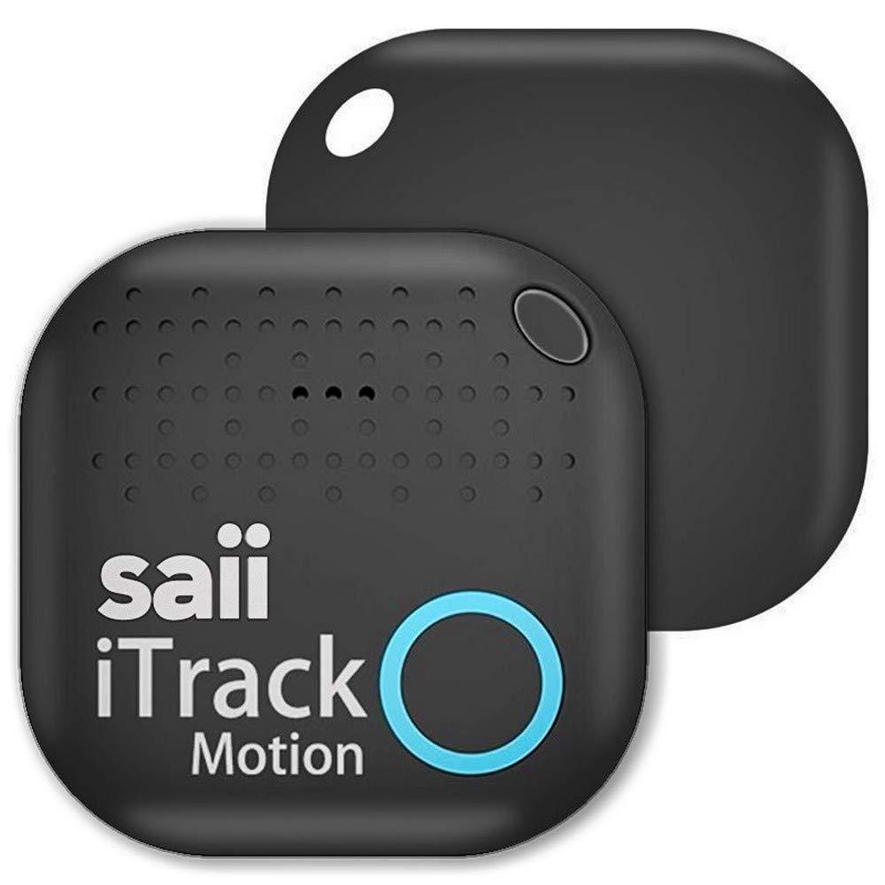 saii Buscador//Rastreador de Llaves Inteligente Bluetooth iTrack Motion Alarm para iOS Android con Obturador de c/ámara Remoto