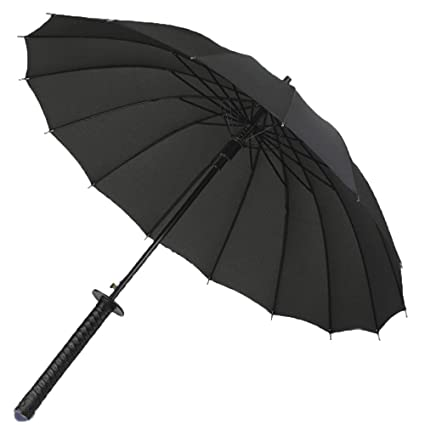 T.Kerry Paraguas De Mujer De Hombre Paraguas De Largo De Los Hombres Umbrella Hueso