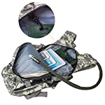 G4Free Hydration Pack Sports Runner Hydration Backpack with Bladder (19.68″x 8.26″x 4.72″)