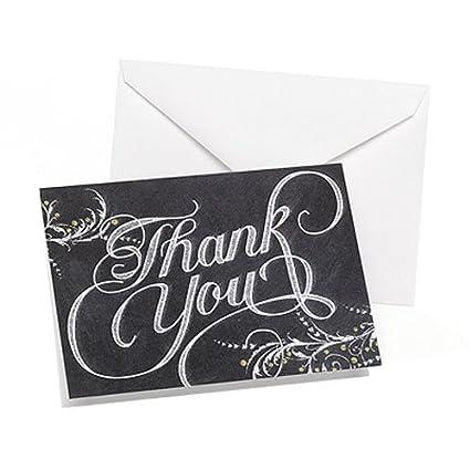 amazon com hortense b hewitt 50 count whimsical chalkboard thank