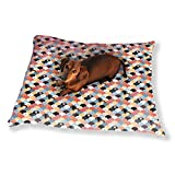 Rising Sun Patchwork Dog Pillow Luxury Dog Cat Pet Bed