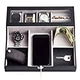 Best Valets For Watch Jewelries - NEATOPA Valet Tray - Men Jewelry, Keys, Watch Review