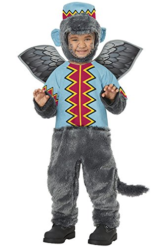 Flying Monkey of Oz Toddler Costume Gray/Blue ()