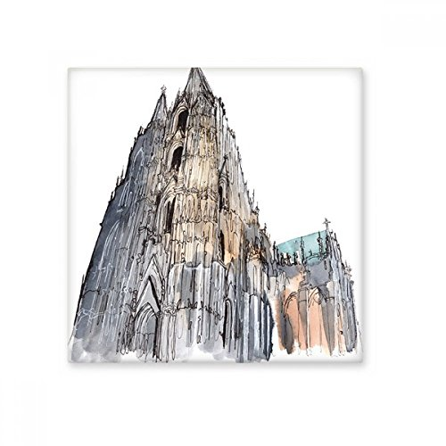 Cologne Cathedral in Cologne Germany Ceramic Bisque Tiles Bathroom Decor Kitchen Ceramic Tiles Wall Tiles