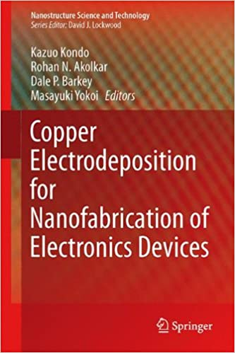 Copper Electrodeposition for Nanofabrication of Electronics