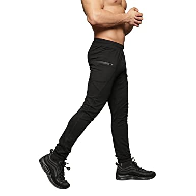4fe5ed096 Amazon.com: MAIKANONG Mens Slim Fit Joggers Tapered Sweatpants for Gym  Running Athletic: Clothing