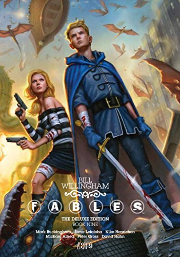Fables Deluxe Book Nine Willingham product image