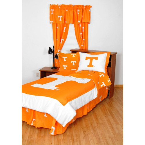 College Covers Tennessee Volunteers Bed in a Bag Twin - with Team Colored Sheets